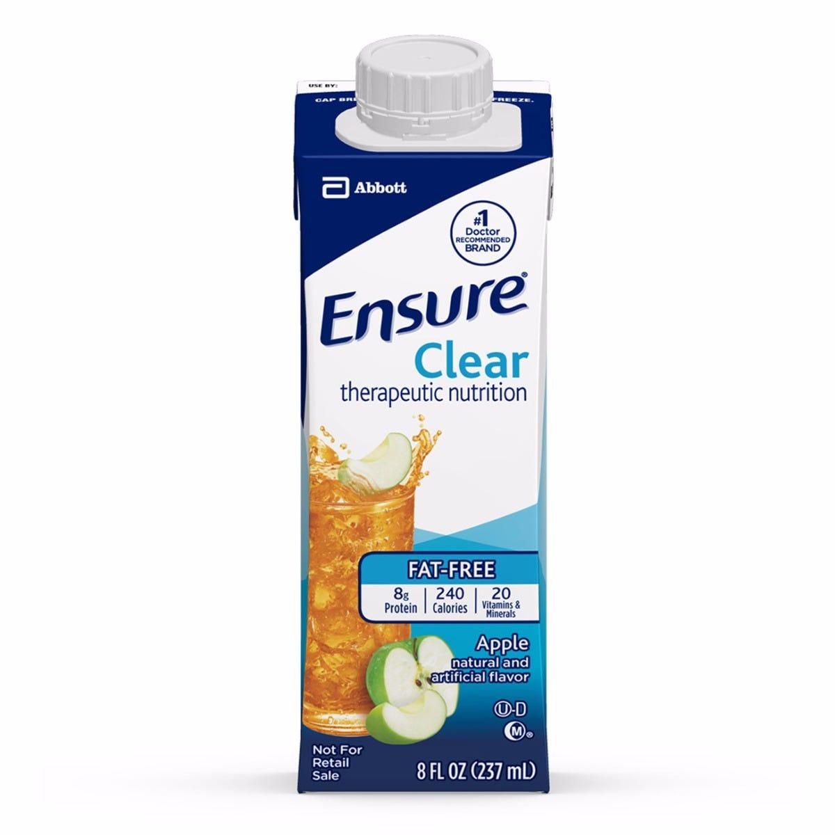 clear liquid diet ensure clear
